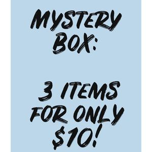Mystery box 3 items for $10